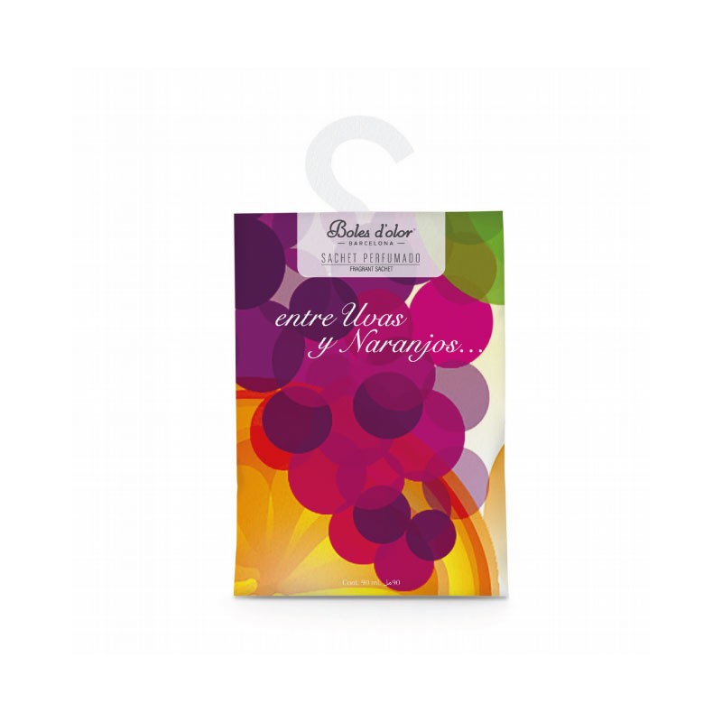 Sachet Perfumado Entre Uvas y Naranjos