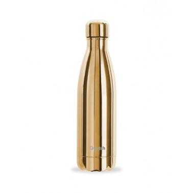 Botella de Oro Metálico